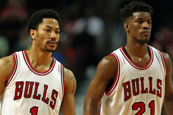 f3b6bd6bff9d Jimmy Butler Plans to Work Out With Derrick Rose During Offseason