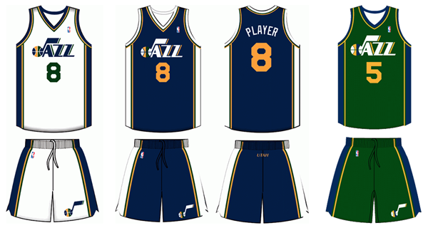 size 40 14717 d375b Utah Jazz Unveil New Jerseys for 2016-17 Season