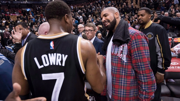 Toronto Raptors Drake 2016