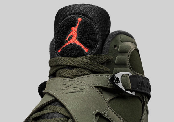 Air Jordan 8 Retro 'Sequoia & Max Orange'. Nike SNKRS