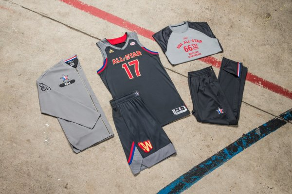 72d0f0bbe4a 2017 NBA All-Star Game Uniforms Revealed