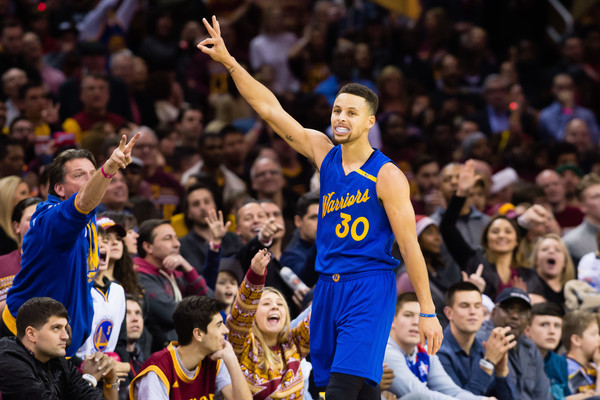 ccef591bd23b Stephen Curry and the Golden State Warriors are two games away from  exacting revenge on the Cleveland Cavaliers for their NBA Finals comeback  in 2016.