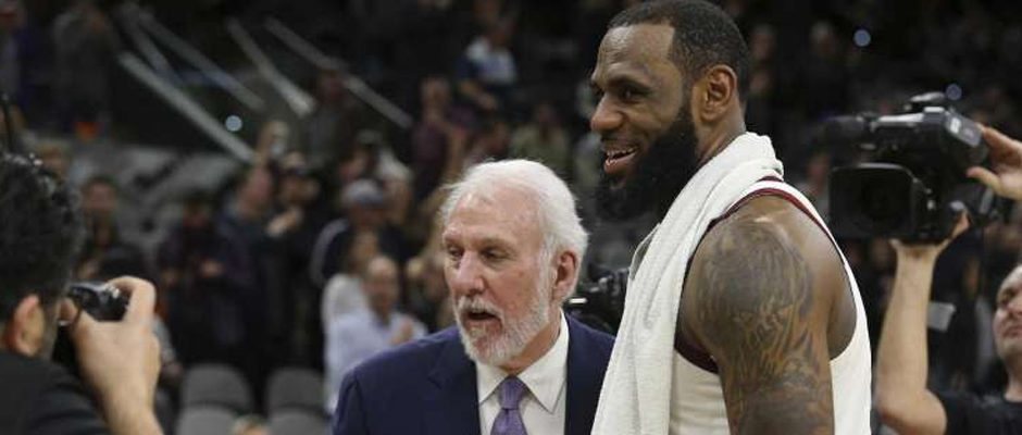 Some 'NBA People' Think Gregg Popovich Has Subtly Started Recruiting LeBron James
