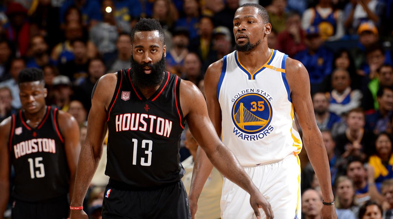 8e2e8876a5c3 Kevin Durant on James Harden s MVP Case   Just Give It to Him. It s His Time  to Win It
