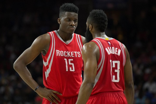 12befb2ca6f6 Clint Capela Credits James Harden for Helping Him Develop into Force with Houston  Rockets