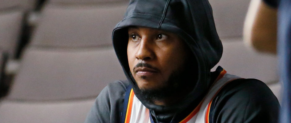 Don't Expect Carmelo Anthony to Come Off the Bench for the Houston Rockets—Not Yet, Anyway