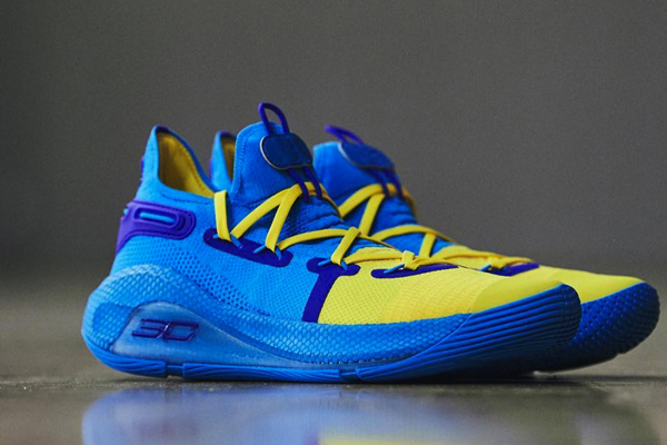 "timeless design c410c 92b9a Stephen Curry s Curry 6 PE is a throwback to his ""first"" NBA All-Star Game."