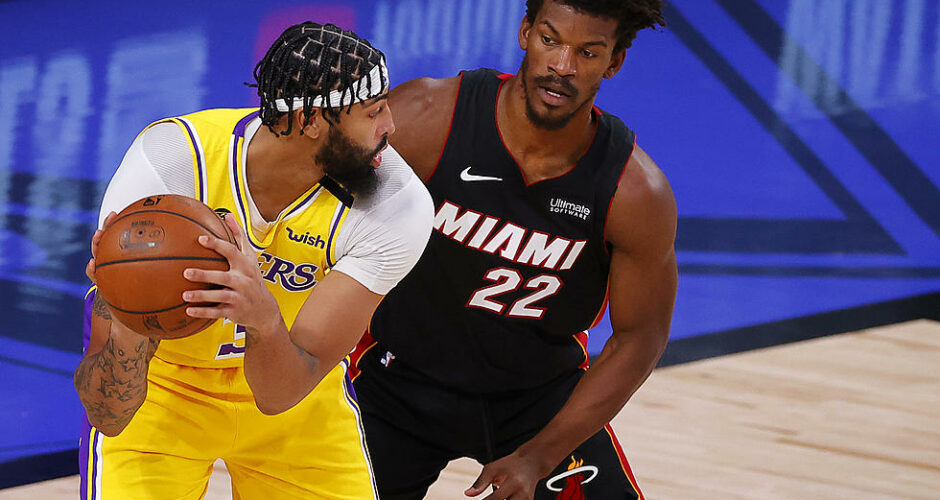 How will the Heat stop Anthony Davis after a dominant game 1 performance?