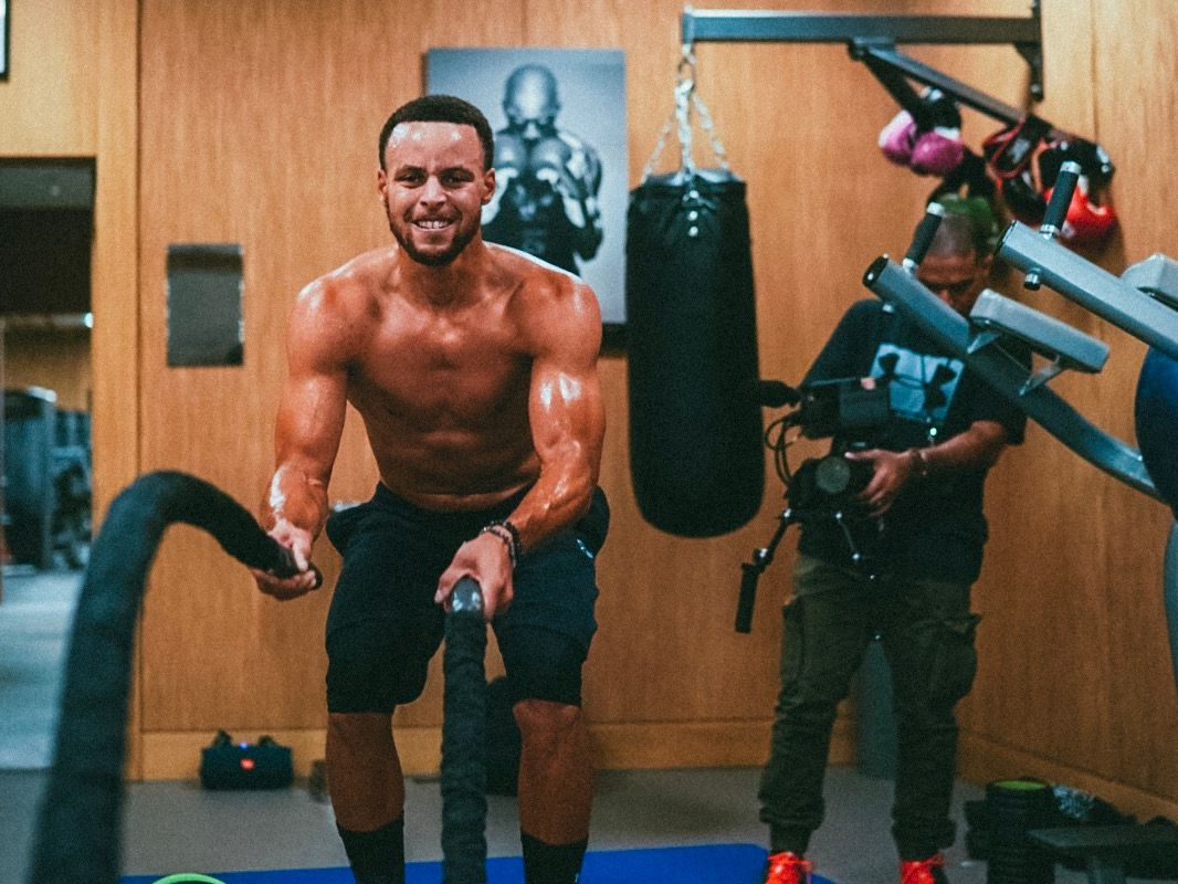 Steph Curry Exercise Routine