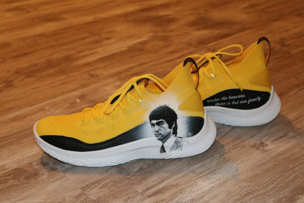 Steph Curry Bruce Lee Sneakers