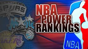 November NBA Power Rankings