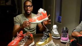Watch: Dwyane Wade Reviews The Difference Between Li-Ning Way Of Wade Sneakers