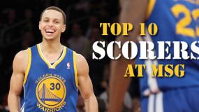 Top 10 Scoring Games at Madison Square Garden