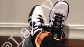 5 Pictures Of Vanessa Bryant Wearing Kobe Sneakers