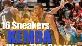 16 Sneakers Kemba Walker Wore This NBA Season