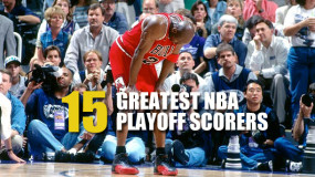 Top 15 NBA Playoffs Scorers Of All Time