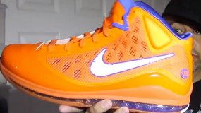 Mayor Shows Off Unreleased Air Max LeBron VII Made For 2010 NBA Slam Dunk Contest