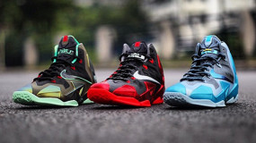 The First Three Colorways Of The Nike LeBron XI(11)