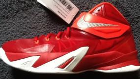 Sneak-A-Peek: Nike Zoom LeBron Soldier VIII (8) Sample