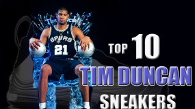 Tim Duncan's Top 10 In-Game Sneakers