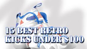 15 Best Retro Basketball Sneakers Under $100 At Foot Locker