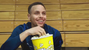 Stephen Curry Rates NBA Arena Popcorn (Seriously): 76ers Have Worst, Heat Have Best