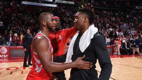 Chris Paul's Text to Donovan Mitchell After Jazz Beat Thunder: Congrats, Talk to You After [our] Series