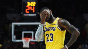 LeBron James Says He 'Almost Cracked' During Los Angeles Lakers' Early-Season Struggles