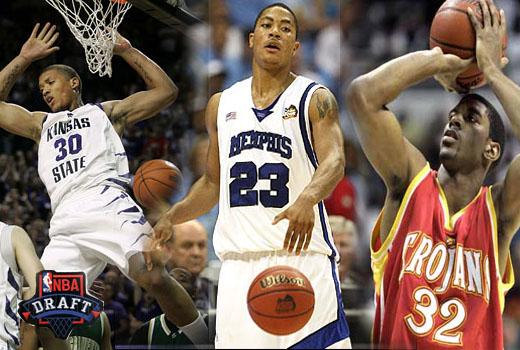 NBA Draft 2008 | Derrick Rose, Michael Beasley, OJ Mayo