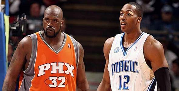 Shaquille O'Neal Dwight Howard