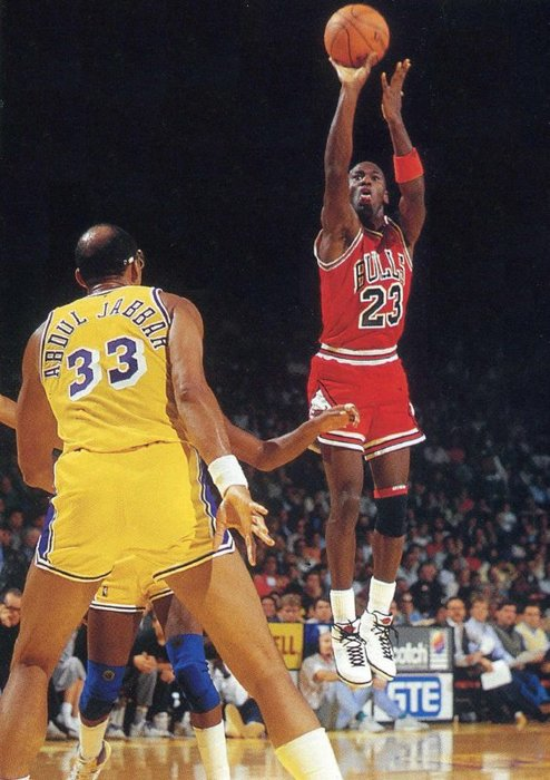 MJ & Kareem