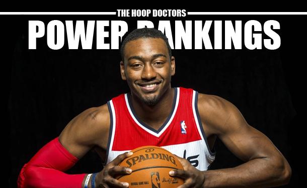 NBA Power Rankings Washington Wizards