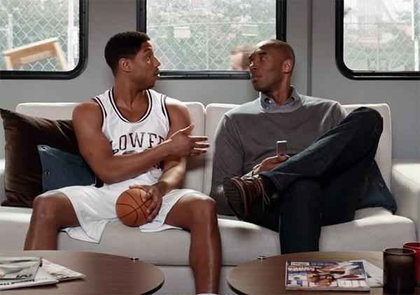 Kobe Bryant Michael B. Jordan