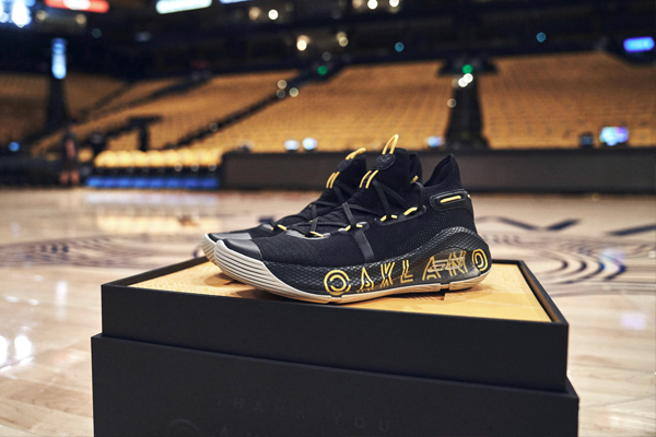 new product 7fd5d 6b162 Stephen Curry Offers His Gratitude With The Thank You, Oakland